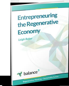 Entrepreneuring the Regenerative Economy